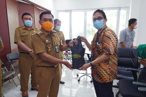 Kunjungan Kerja Bupati Minahasa Utara ke Fasilitas Pembuangan Limbah (TSF) Tambang Emas Toka Tindung